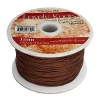 Lovely Knots/knotting Cord 1mm 180yds Light Chocolate